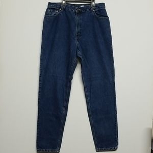 LEVI 550 Jeans Authentic Red Tab Jeans Size 18